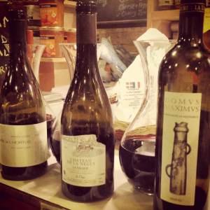 wine table 25 jan